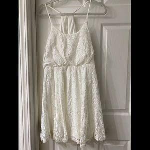 NWT Pink lily lace dress